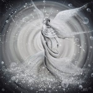 Anděl šedá
